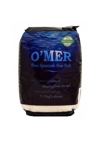 O'mer Fijn zeezout 1kg