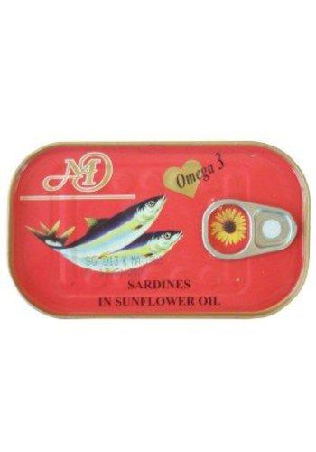 Neckermann Sardines à l'huile de tournesol 125 g