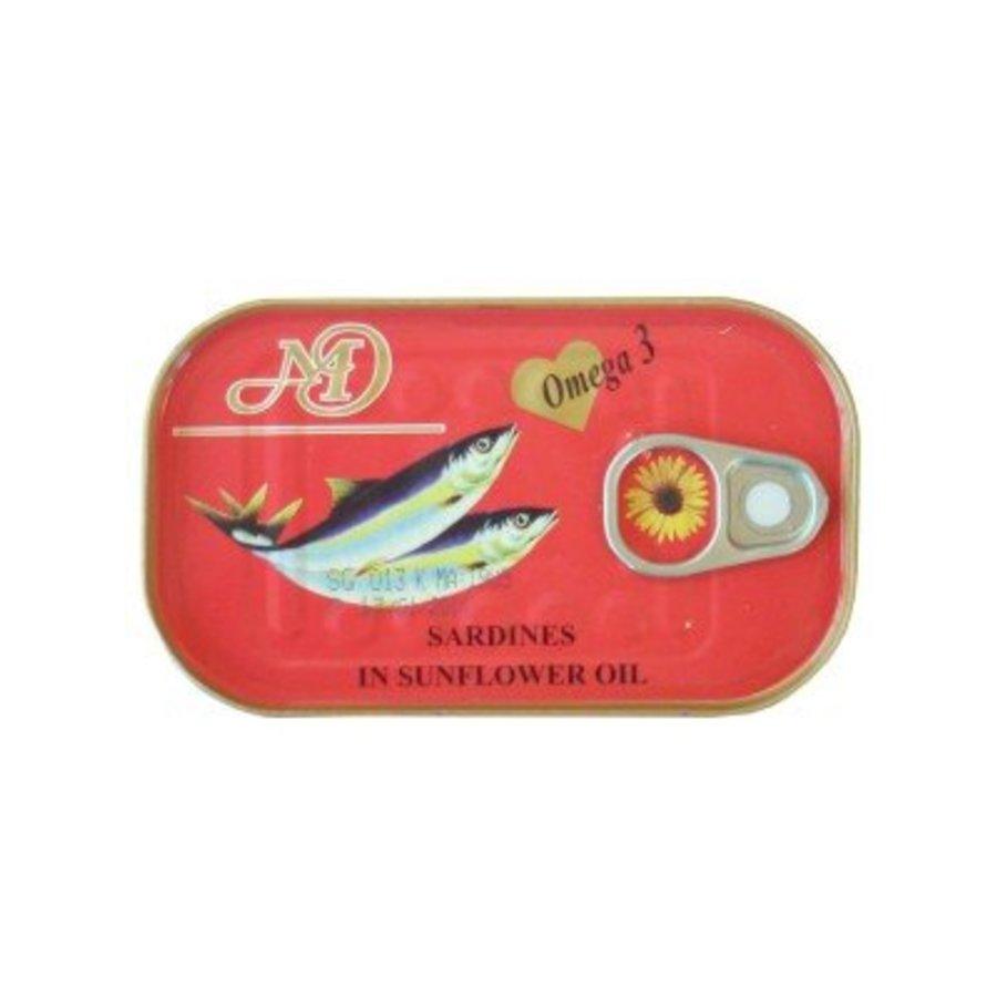 Sardinen in Sonnenblumenöl 125 g