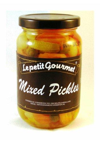 Le petit Gourmet Pickles mélangés 370ml