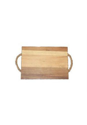 Neckermann Neckermann Planche à découper en bois Acacia avec charnière marron