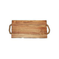 Neckermann Acacia houten snijplank met hengsel 35x18,5 cm