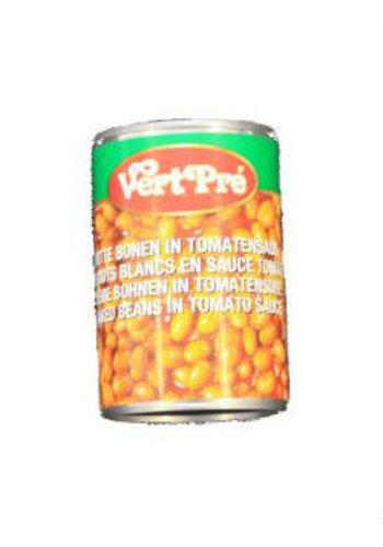 Vert Pré Haricots blancs à la sauce tomate 420 g