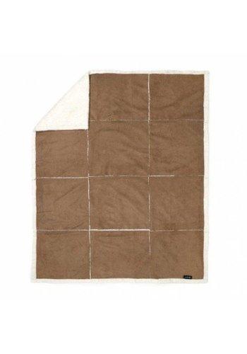 Zest Fleeceplaid 125x150 suedelook patchwork