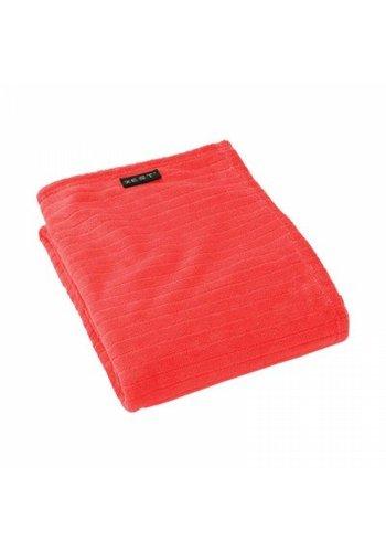 Zest Fleeceplaid 100% polyester rood