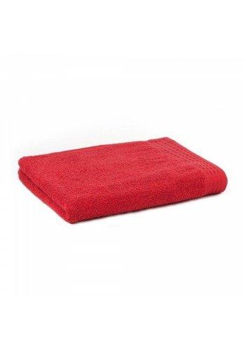Zest Handdoek Zest 50x100 cm rood