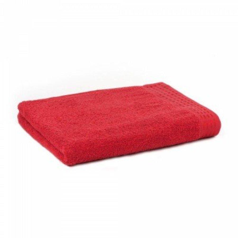 Handdoek Zest 50x100 cm rood