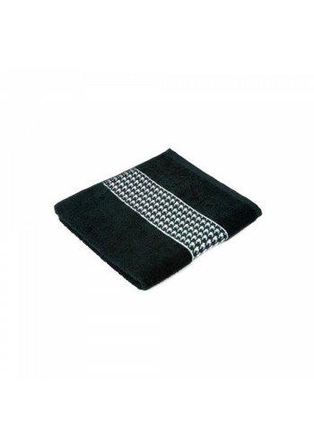 Zest Handdoek Zest 50x100 cm zwart