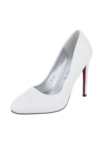 LEMONTREE Damen High Heels - silver