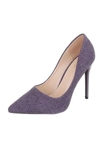 S.S Damen High Heels - LT.purple