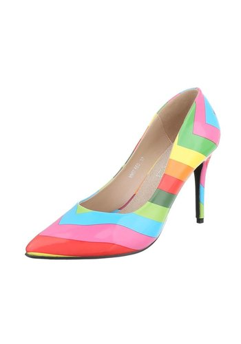 Neckermann Dames Pumps - regenboog