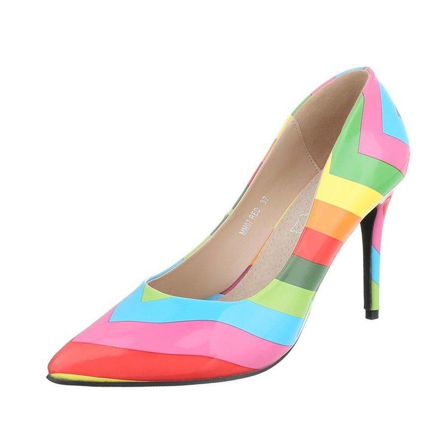 Damen Pumps - Regenbogen