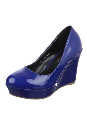 Neckermann Dames sleehak - blauw