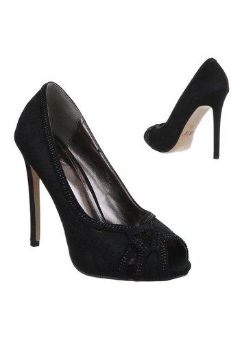 Neckermann Damen Peep Toe - black