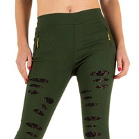 Damen Hose von Best Fashion - green