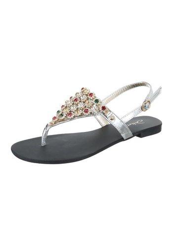 Neckermann Damen Sandaletten - silver