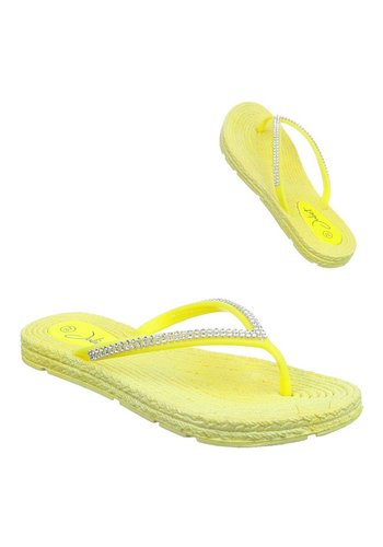 Neckermann Damen Sandaletten - yellow