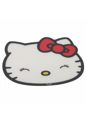 Hello Kitty Le napperon de chat