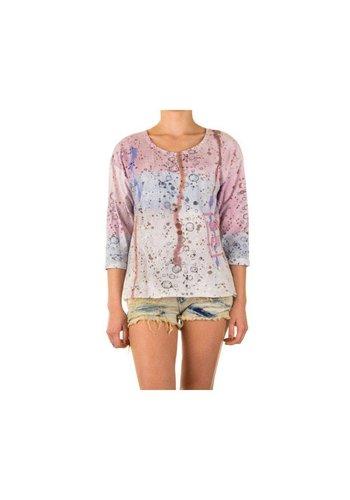 Neckermann Dames Shirt one size - Roze