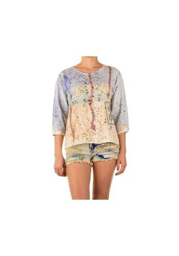 Neckermann Dames Shirt one size - Groen