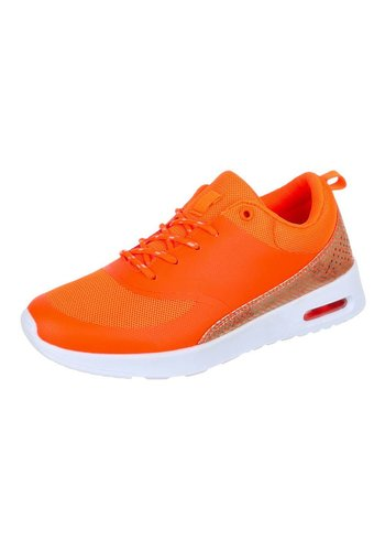 Neckermann Dames Sneakers - oranje