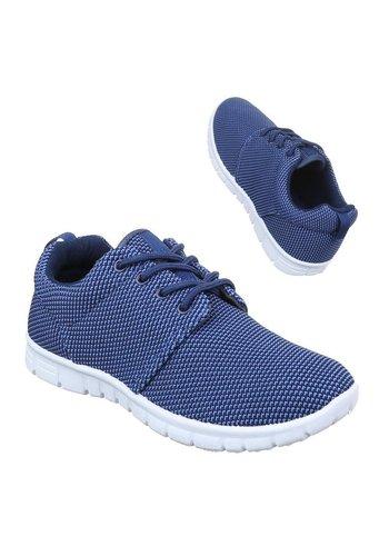 Neckermann Dames sneaker/donker blauw