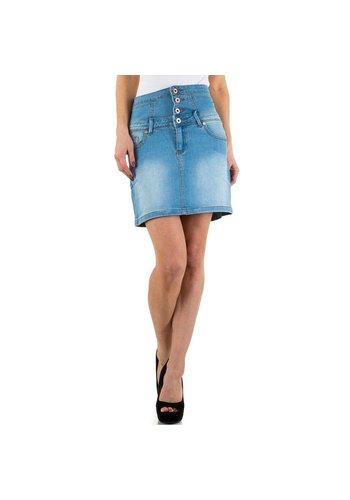 Daysie Jeans Damesrok van Daysie Jeans - blauw