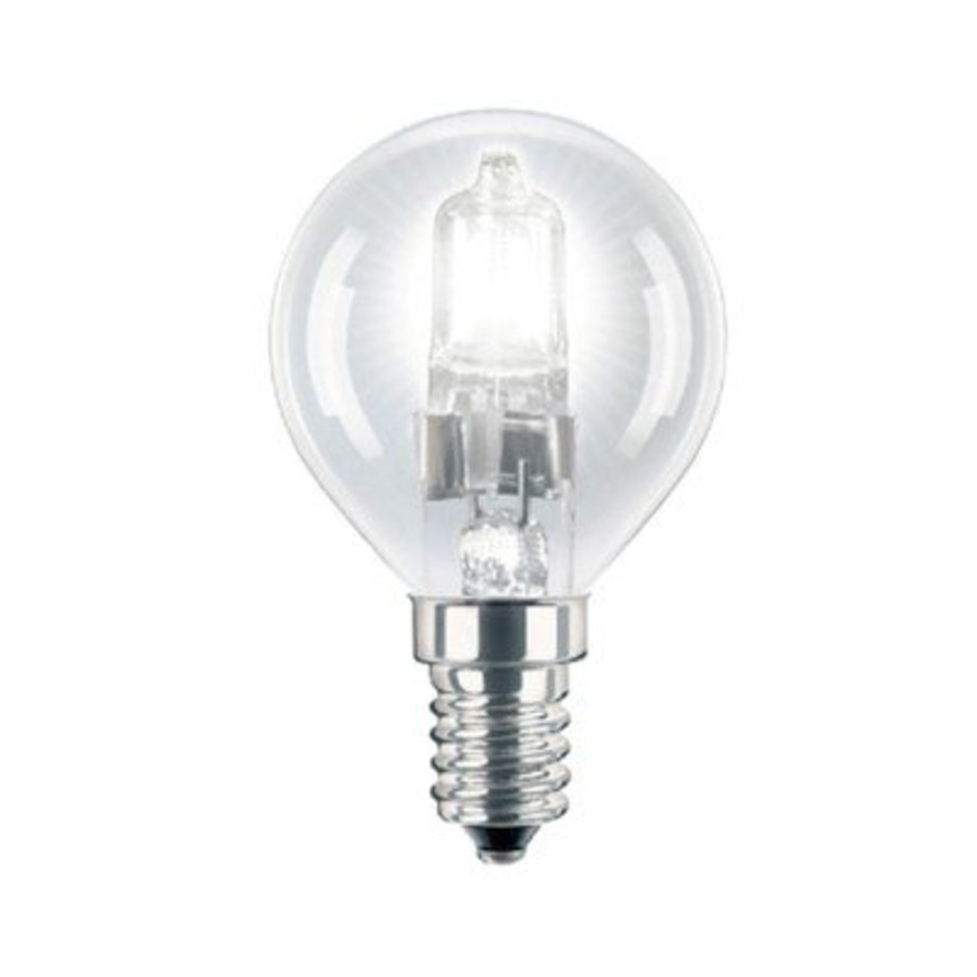 Energiesparende Halogenlampe E14 P45 28W