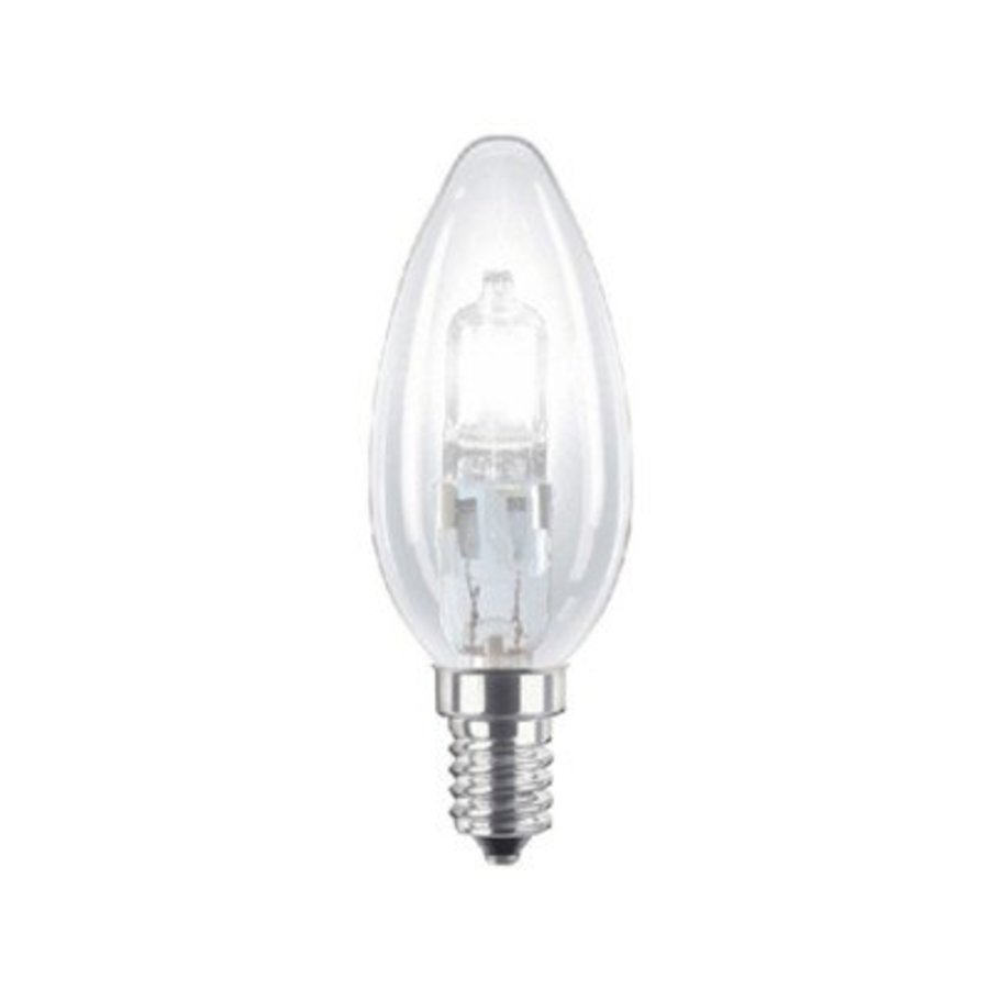 Energiesparende Halogenlampe E14 B35 18W