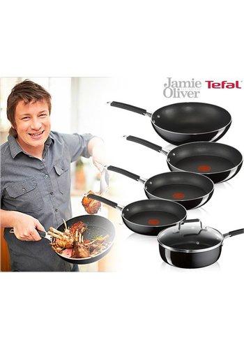 Tefal Koekenpan Jamie Oliver 20 of 26 cm