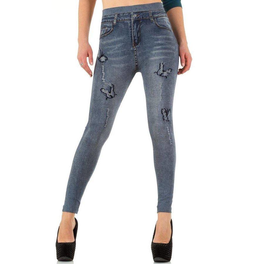 Damen Leggings von Best Fashion Gr. one size - DK.blue