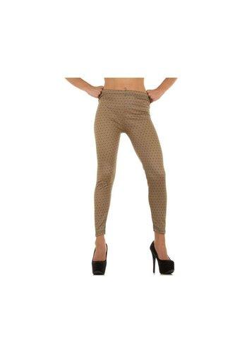 Neckermann Dames Leggings one size - beige