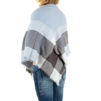 Damen Schal von Best Fashion Gr. one size - L.blue