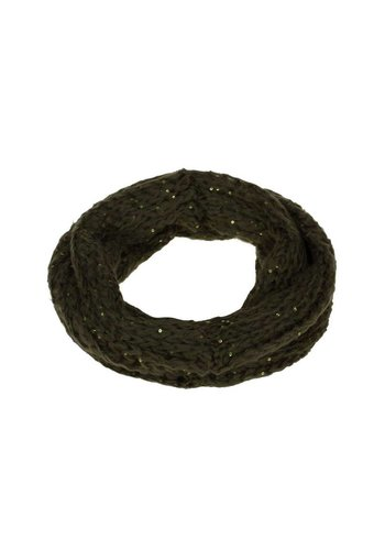 Neckermann Dames Sjaal one size - Groen