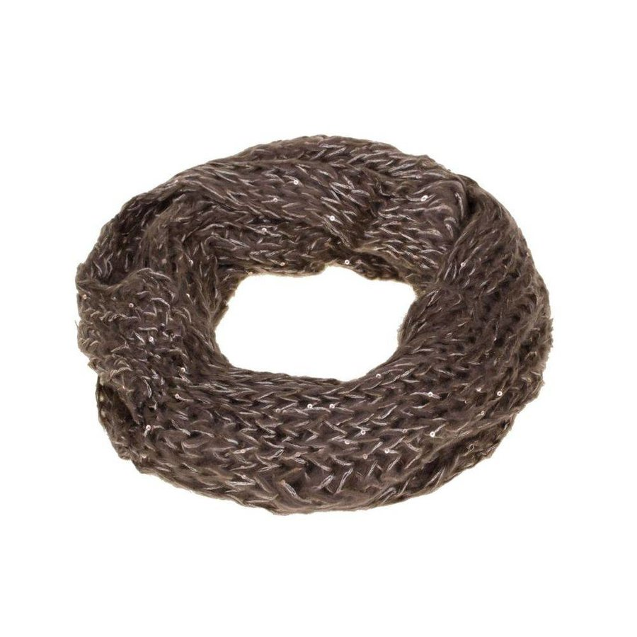 Damen Schal Gr. one size - DK.brown