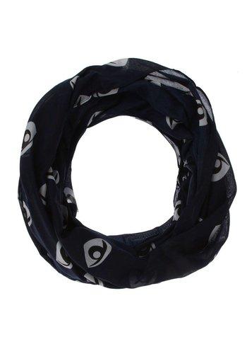 Neckermann Dames Sjaal one size - Donker Blauw