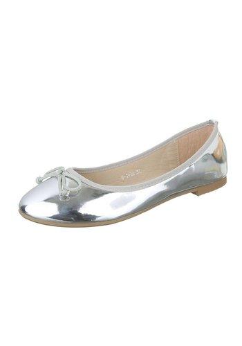 Neckermann Chaussure de dames Ballerines - argent