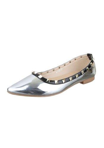 Neckermann Dames Ballerina's - zilver