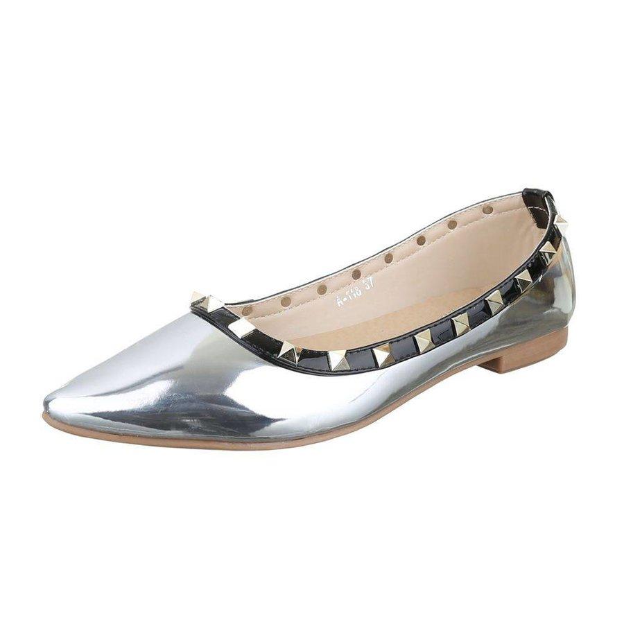 Damen Ballerinas - silver