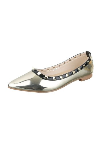 Neckermann Chaussure de dames Ballerines - doré