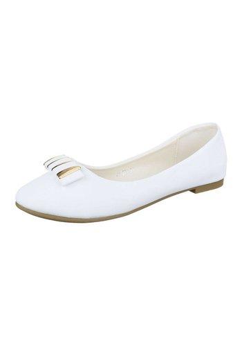 Neckermann Chaussure de dames Ballerines - blanc