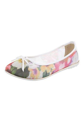 JULIET Chaussure de dames Ballerines - blanc