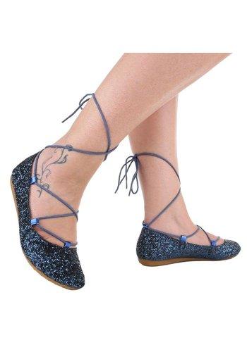 Neckermann Chaussure de dames Ballerines - bleu foncé