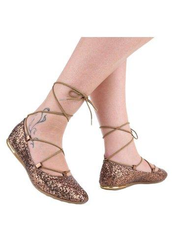img Chaussure de dames Ballerines - bronze