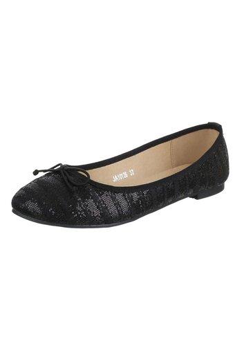 Neckermann Dames Ballerina's - zwart