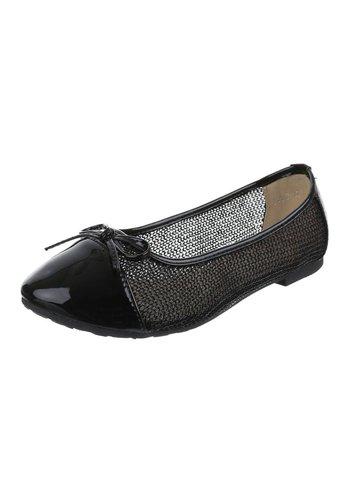 JULIET Damen Ballerinas - black