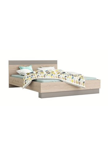 Neckermann Tweepersoons bed Geo (160 x 200) Acacia, klei-kleur