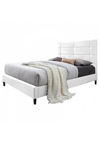 Neckermann Twijfelaarbed Triana 140 x 200 wit Wit