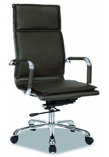 Neckermann Chaise de bureau Café Cappuccino