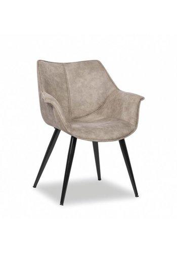 Neckermann Chaise de salle à manger Sevilla gris Gris